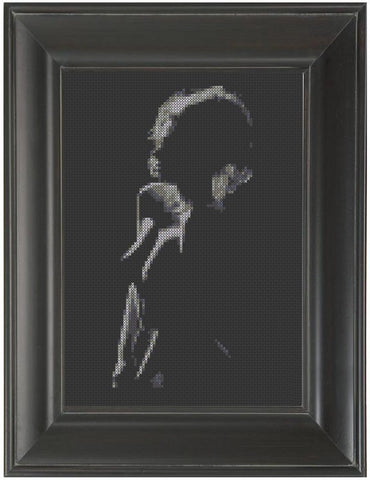 In Shadows - Cross Stitch Pattern Chart Erotic Nude Sexy NSFW