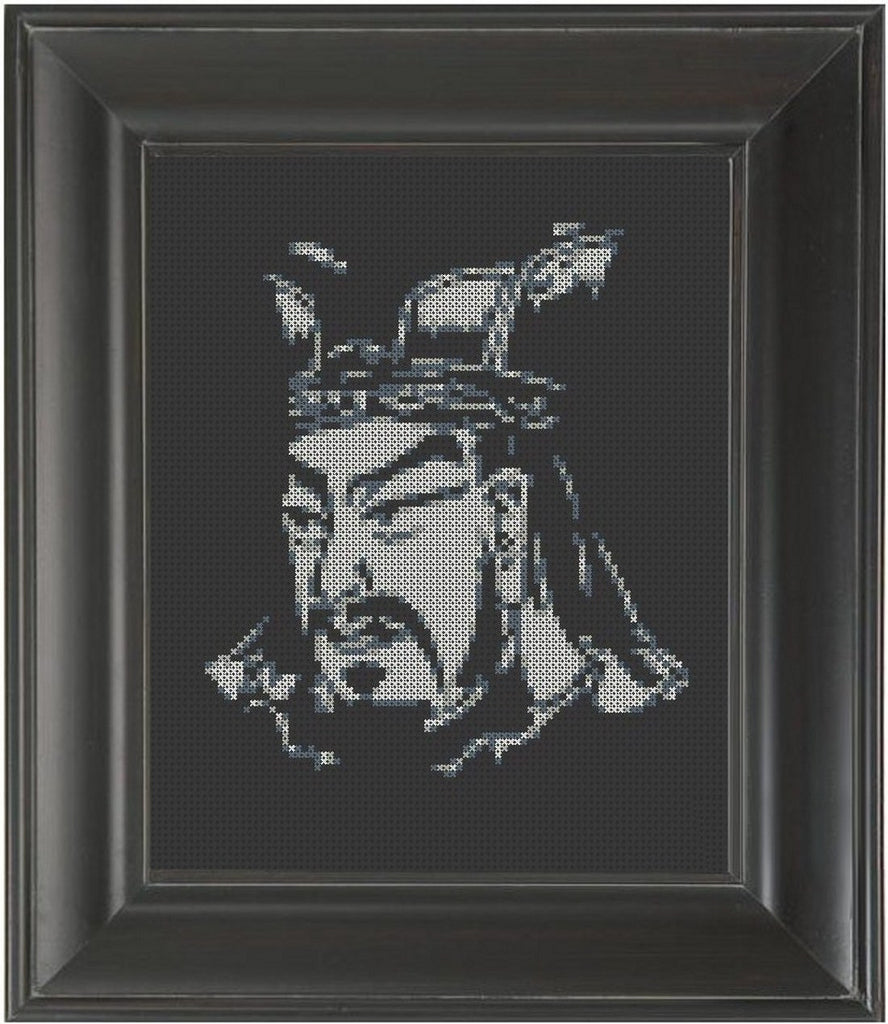 Sun Tzu - Cross Stitch Pattern Chart