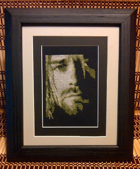 Kurt Cobain - Cross Stitch Pattern Chart
