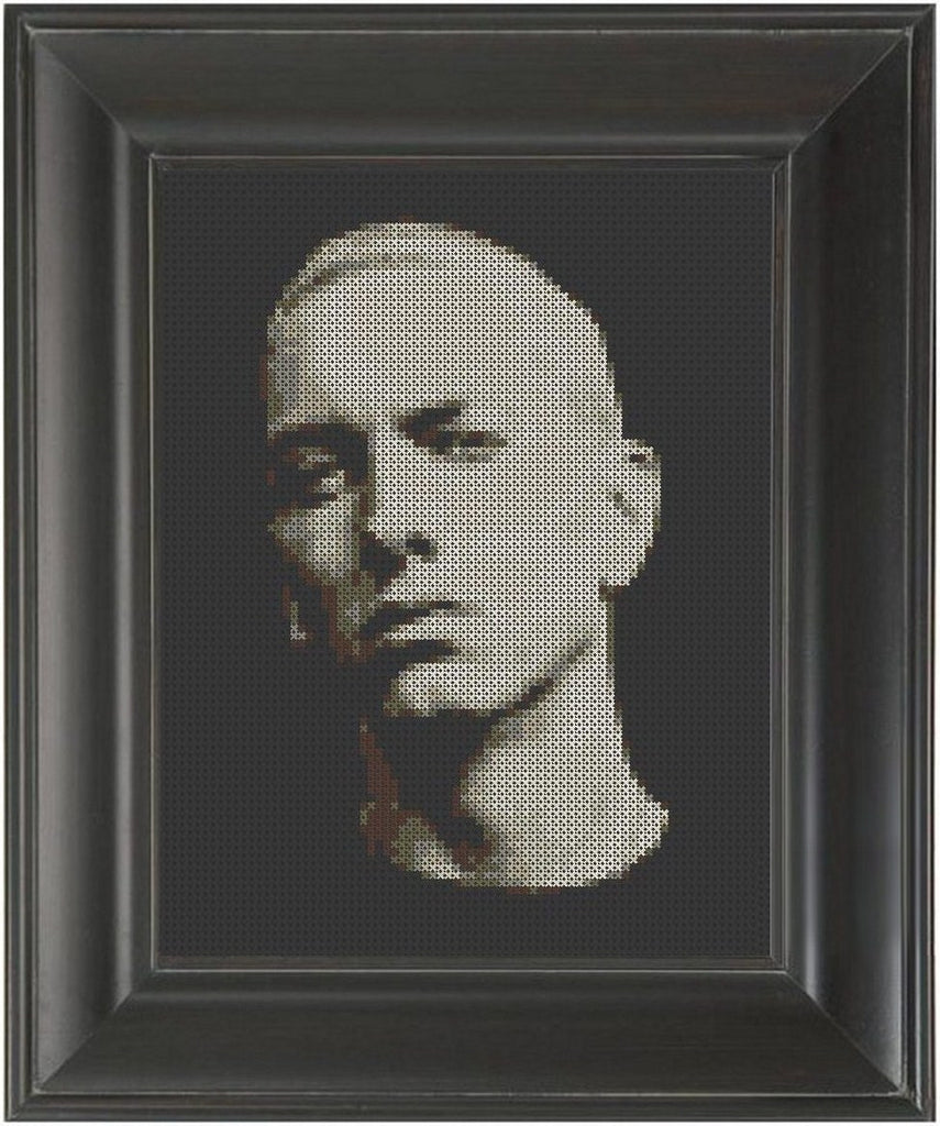 Eminem - Cross Stitch Pattern Chart