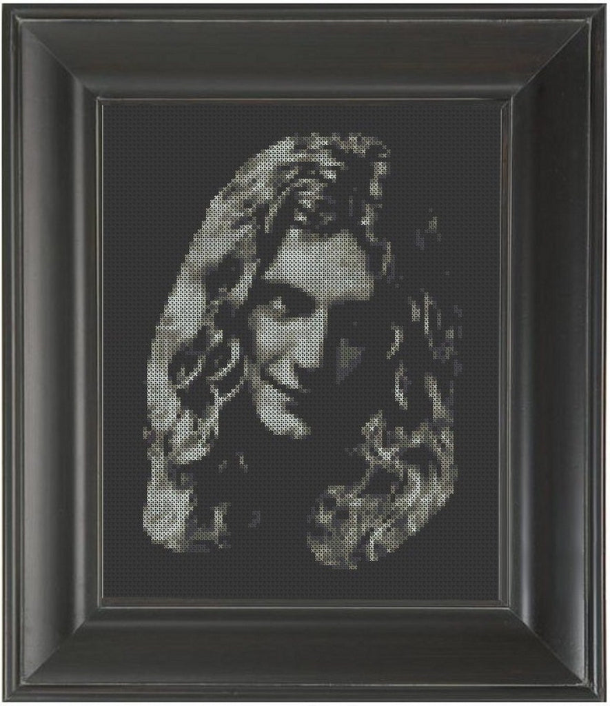 Robert Plant - Cross Stitch Pattern Chart Led Zeppelin