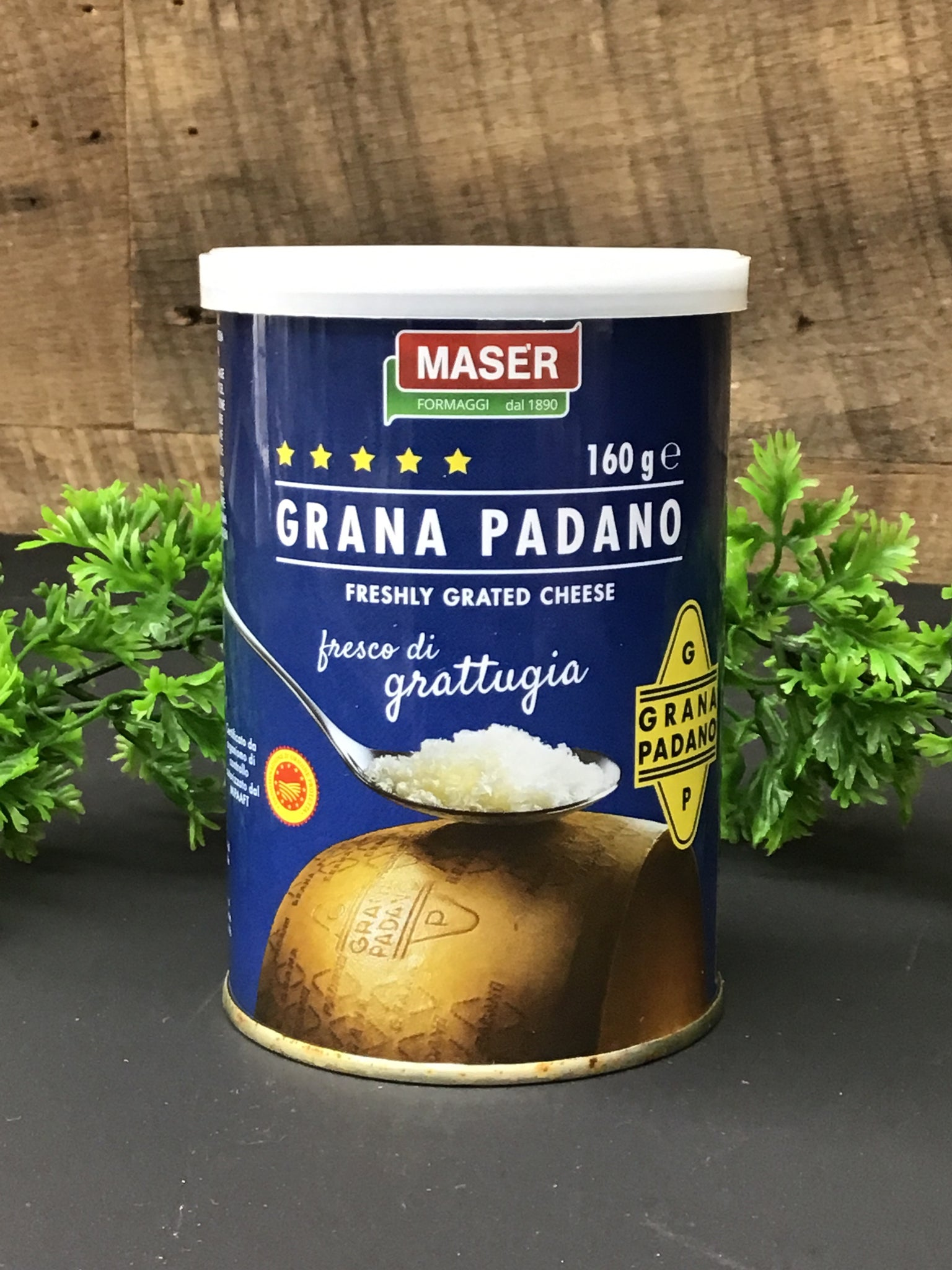 Grana Padano grated cheese 160g