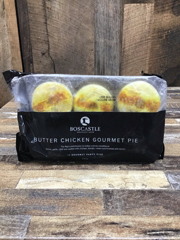 Boscastle Butter Chicken Party Pies