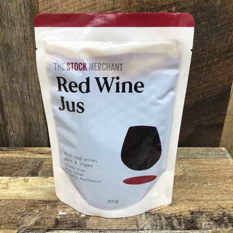 The Stock Merchant Red Wine Jus 300g