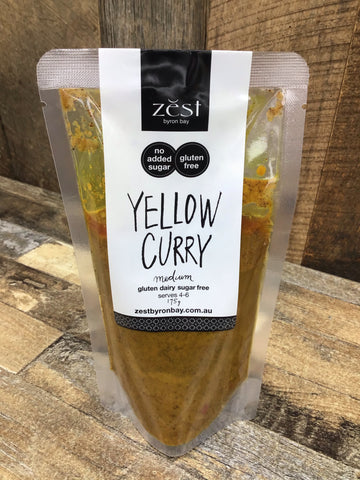 Zest Yellow Curry