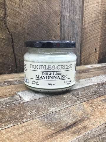 Doodles Creek Dill & Lime Mayonnaise 285g