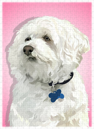 Custom One-Pet Portrait Puzzle