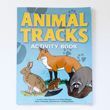 Load image into Gallery viewer, Animal Tracks Activity Book