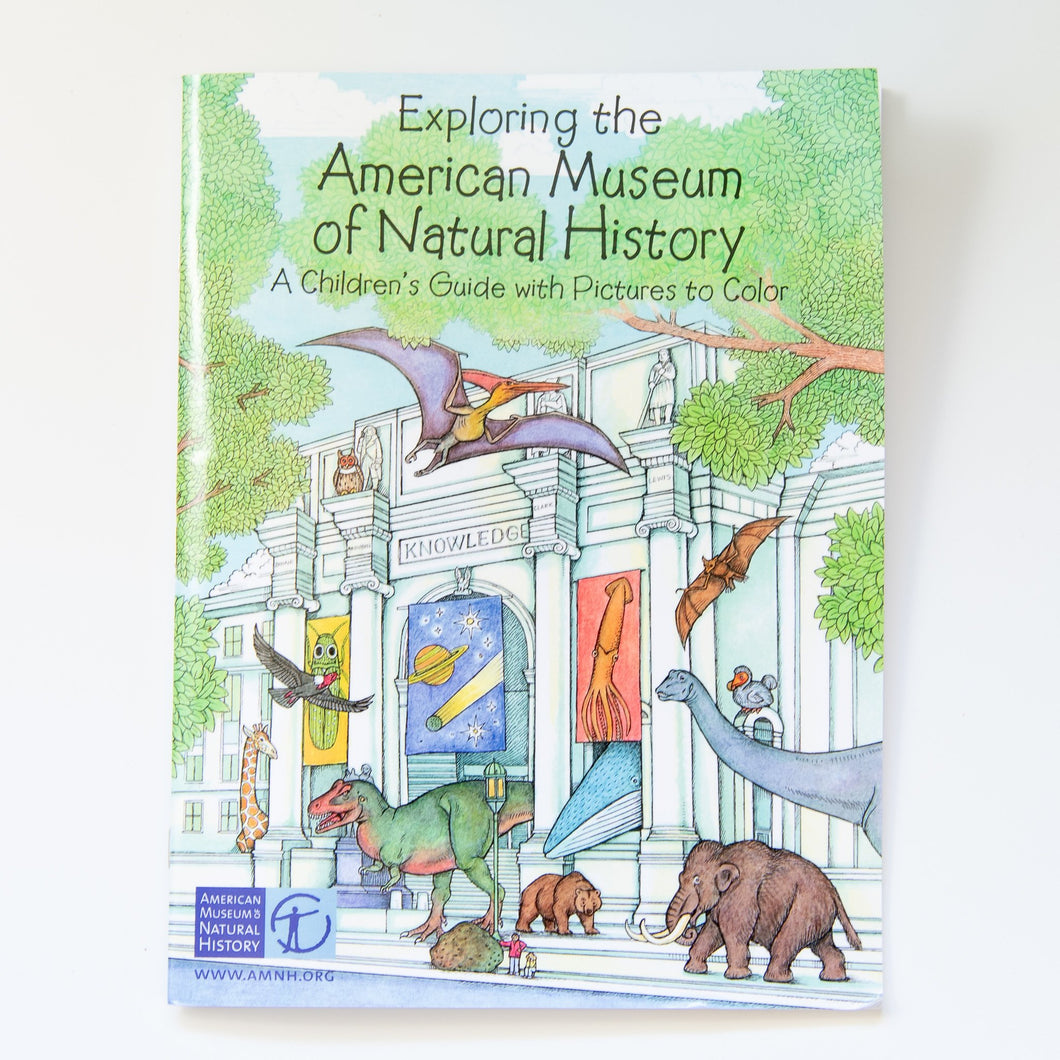 American Museum of Natural History Coloring Book