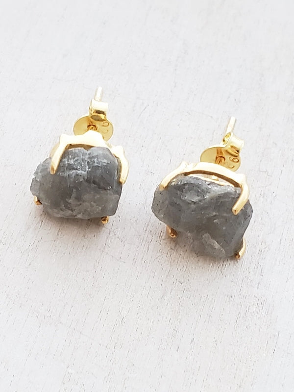 Big Stone Earrings