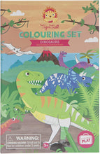 Load image into Gallery viewer, Colouring Set: Dinosaurs