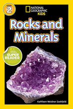 Load image into Gallery viewer, National Geographic Kids Readers: Rocks and Minerals