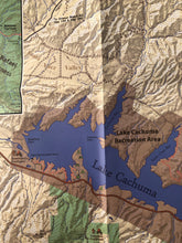 Load image into Gallery viewer, San Rafael Wilderness Backcountry Topo Map