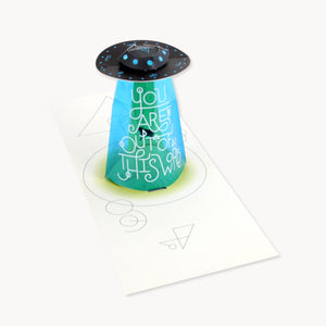 UFO Pop-up Card