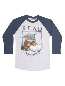 Read Baby Yoda 3/4 Sleeve T-Shirt