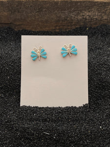 Butterfly Flutter Turquoise
