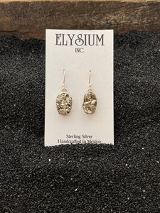 Pyrite Rough Earring
