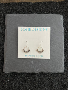 Silver Decorative Earrings