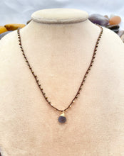 Load image into Gallery viewer, Mineral Facet Necklace