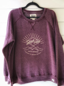 Good Vibes Fleece Crew Neck