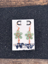 Load image into Gallery viewer, Butterfly Origami Beaded Earrings- Blue Series