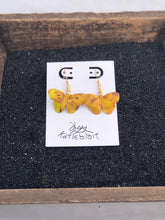 Load image into Gallery viewer, Butterfly Origami Earring-Yellow Series