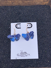 Load image into Gallery viewer, Butterfly Origami Earring- Blue Series