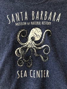 Santa Barbara Octopus Kid's T-Shirt