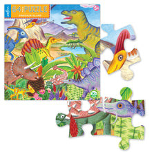 Load image into Gallery viewer, Dinosaur Island 64pc Puzzle
