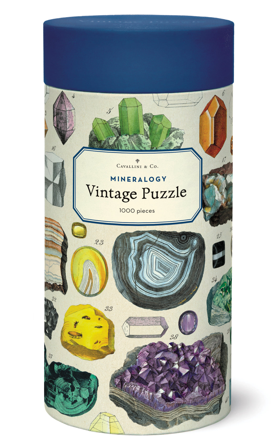 Mineralogy 1000pc Puzzle