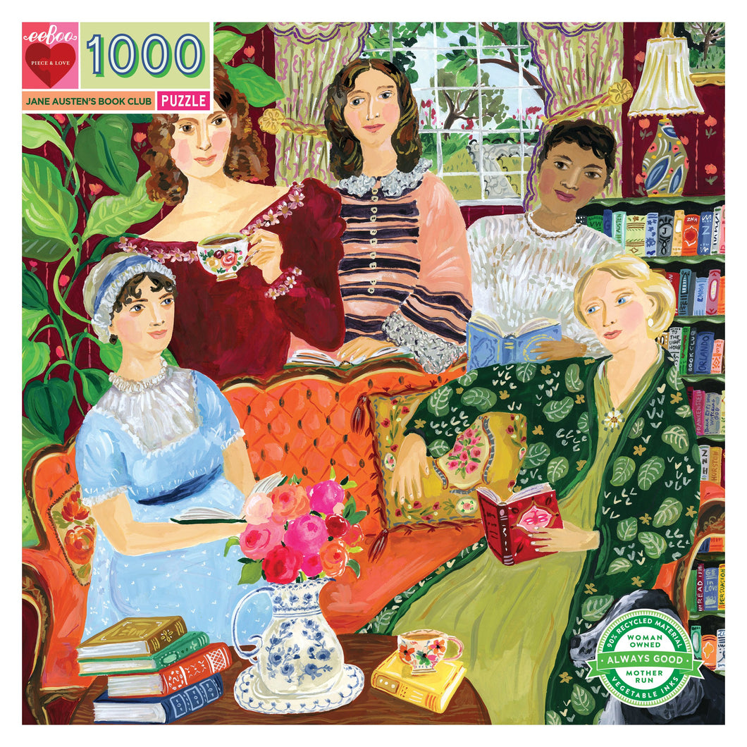 Jane Austen's Book Club 1000pc Puzzle