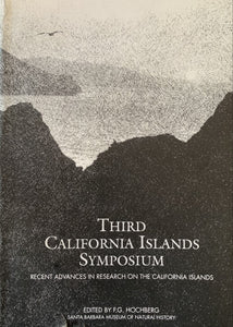 Third California Islands Symposium Recent Advances in Research on the California Islands