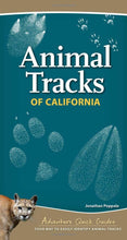 Load image into Gallery viewer, Animal Tracks of California Field Guide