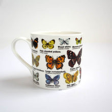 Load image into Gallery viewer, Butterflies Bone China Mug
