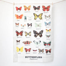 Load image into Gallery viewer, Butterflies Tea Towel