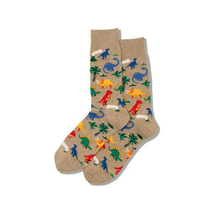 Dinosaur Party Men's Socks