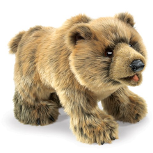 Load image into Gallery viewer, Grizzly Bear Hand Puppet