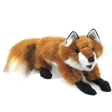 Load image into Gallery viewer, Small Red Fox Hand Puppet