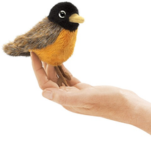 Load image into Gallery viewer, Mini Robin Finger Puppet
