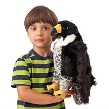 Load image into Gallery viewer, Peregrine Falcon Hand Puppet