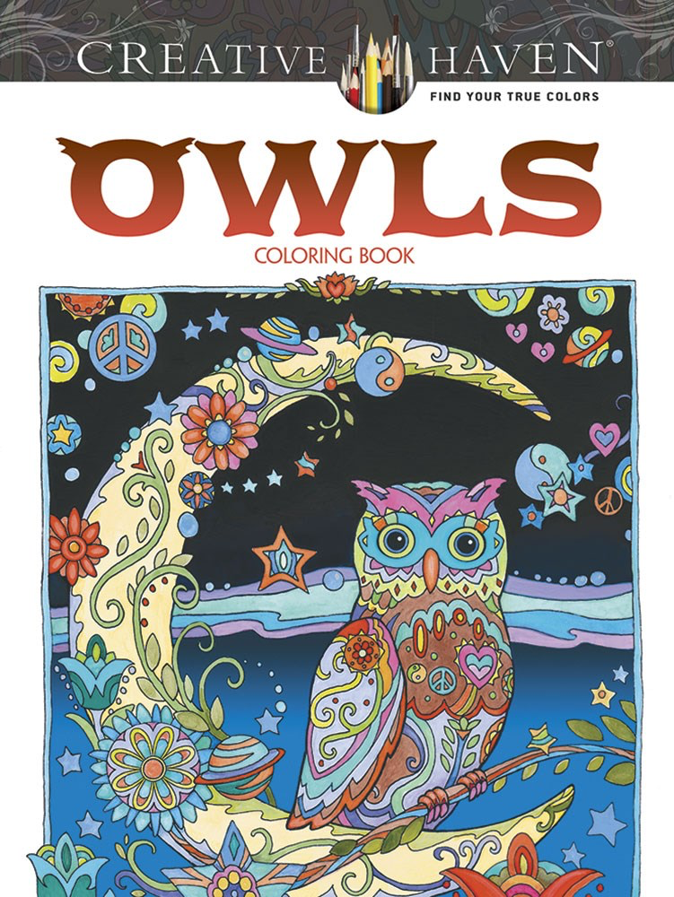 Creative Haven: Owls Coloring Book