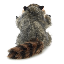 Load image into Gallery viewer, Mini Raccoon Finger Puppet