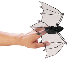 Load image into Gallery viewer, Mini Bat Finger Puppet