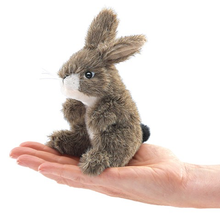 Load image into Gallery viewer, Mini Jackrabbit Finger Puppet