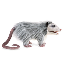 Load image into Gallery viewer, Opossum Hand Puppet