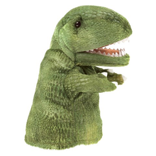 Load image into Gallery viewer, Little T-Rex Hand Puppet