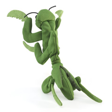 Load image into Gallery viewer, Mini Preying Mantis Finger Puppet