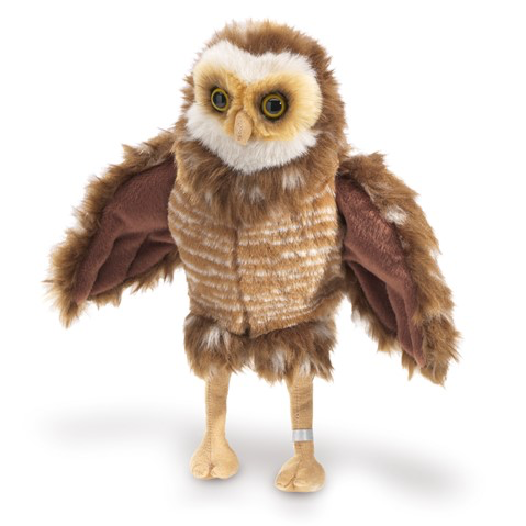 Burrowing Owl Hand Puppet