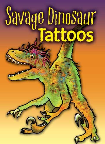 Savage Dinosaur Tattoos