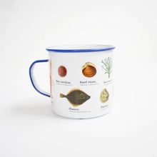 Load image into Gallery viewer, Sealife Enamel Mug